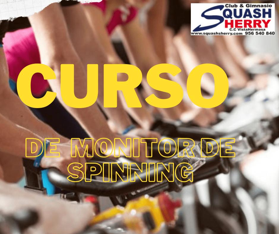 Curso de spinning en Gimnasio Squash Sherry
